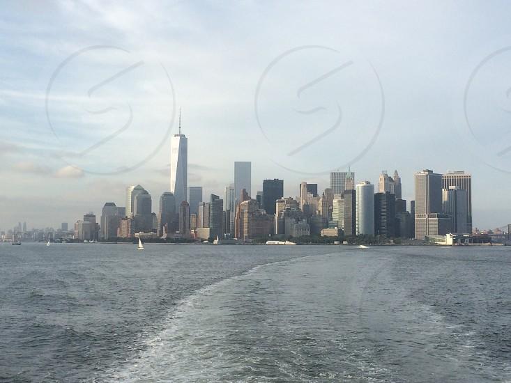 NY skyline  photo