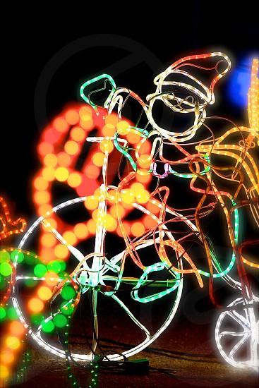 Cycling Santa Claus (2) photo