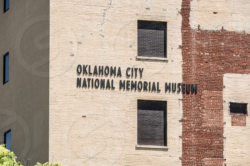 Exterior images of the Oklahoma City National Memorial & Museum photo