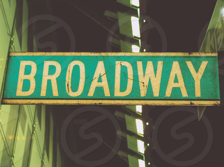 Grungy Glamour - Broadway New York City photo