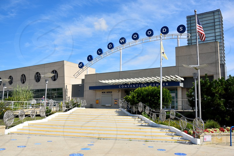 The Wildwoods Convention Center in Wildwoods New Jersey. photo