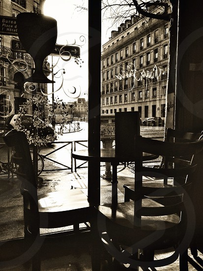From a cafe in Paris photo