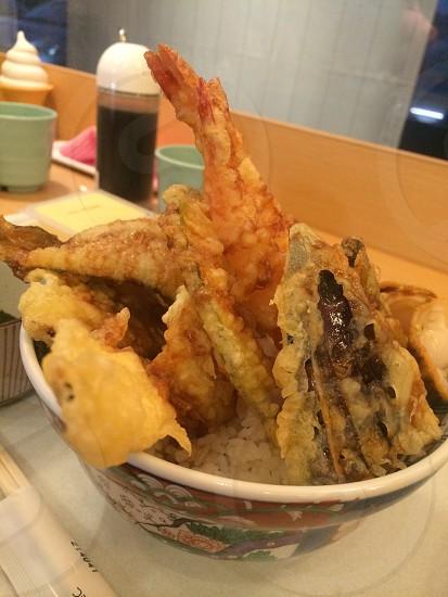 天丼  富士山盛り  美味しかった! photo