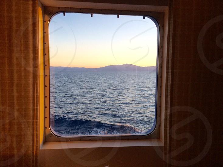 Boat Mountain sea photo
