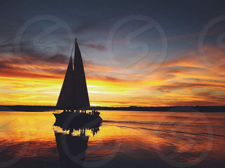 sunset sail photo