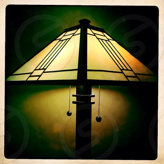 Close up - shady lamp photo