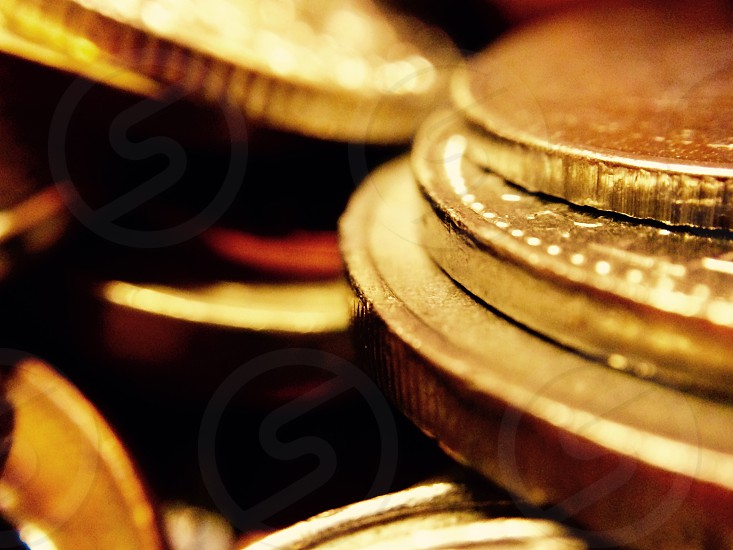 Gold coins wealth pirate treasure money currency Olloclip photo