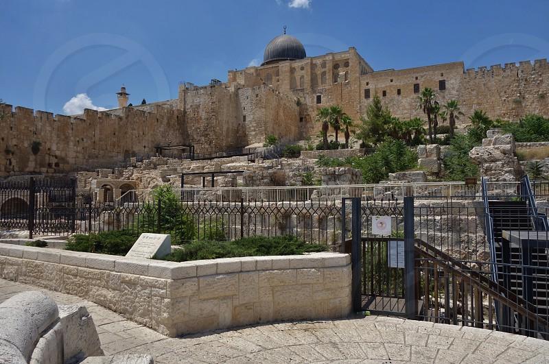 The Al Aqsa Mosque in Jerusalem photo