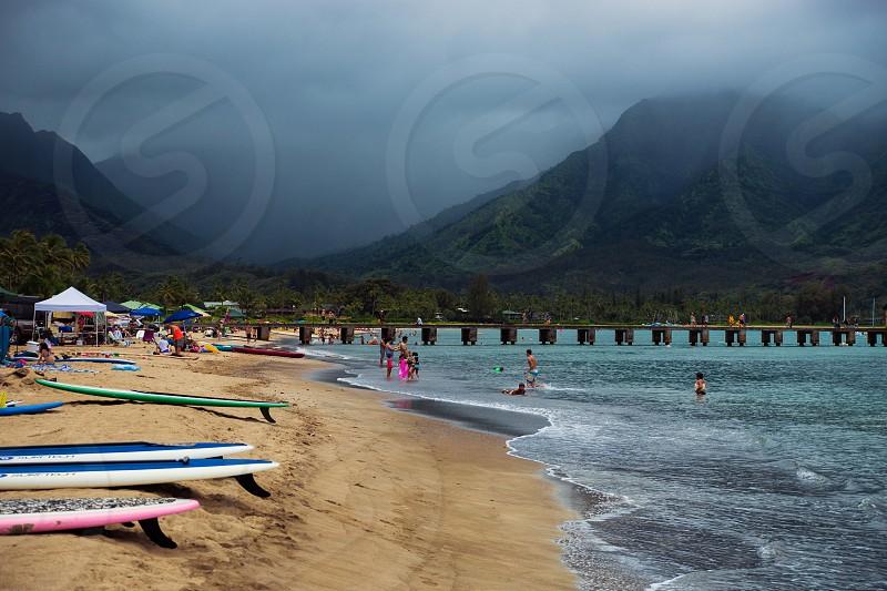 Hanalei Bay Kauai photo
