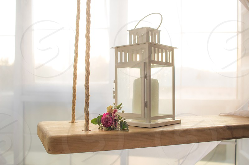 wedding flower lantern background sunny tender swing wooden decoration bouquet decorative love closeup marriage romantic lamp window interior room home table white design light architecture decor indoor candle style green arrangement beautiful floral nature vintage ceremony fashion pink summer beauty celebration event outside married flora color luxury holiday photo