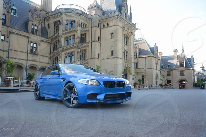 BMW M5 at Biltmore Estate photo