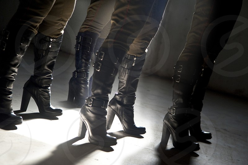 light military boots cadence repetition photo