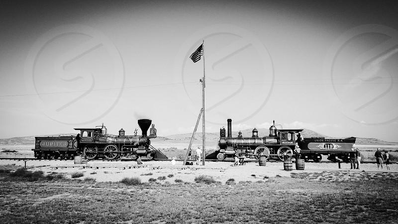 Golden Spike National Historical Site in Utah photo