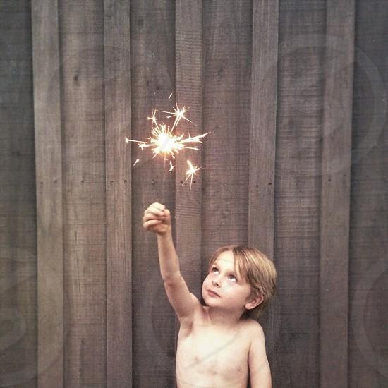 Shirtless Sparkling.  photo