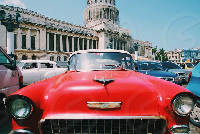 Classes Cars in Cuba photo