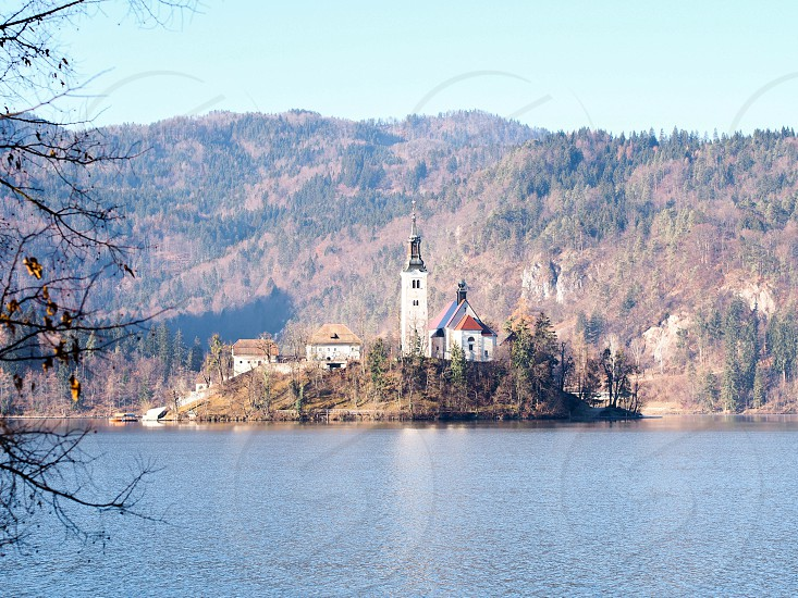 Photo By Diana Ong Lake Bled Slovenia Winter Snow
