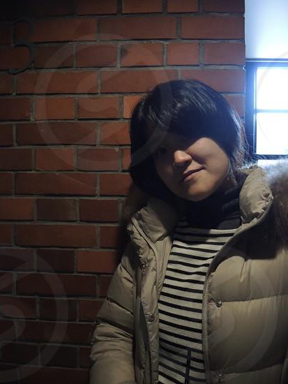 portrait in Yokohama Red Brick Warehouse photo