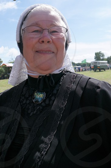 Older woman outdoor grandma photo
