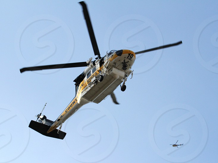 Fire Rescue helicopter  photo