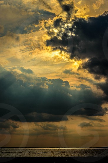 dramatic sky... photo