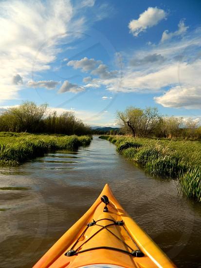 Adventure of a kayak photo