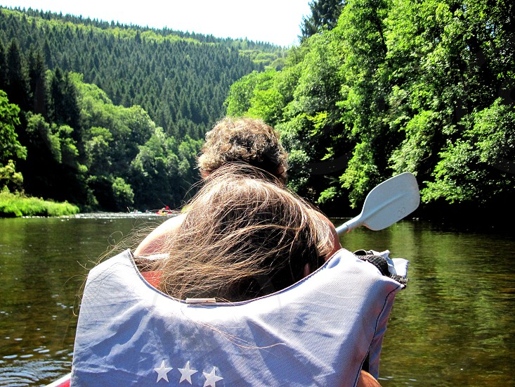 on the river photo