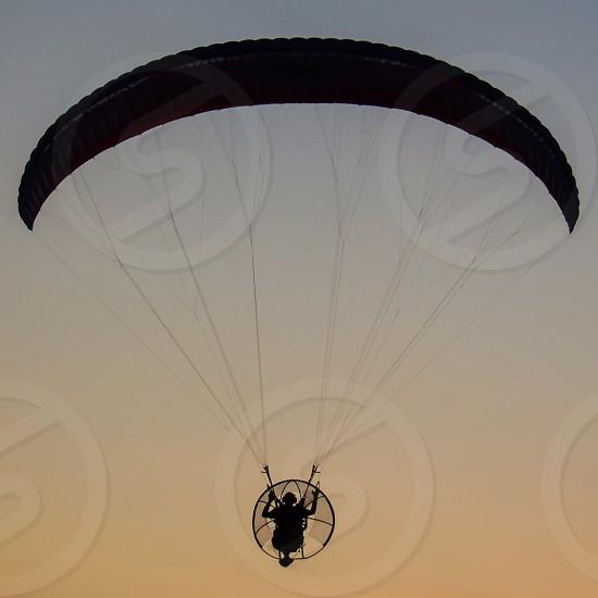 parachute glider photo