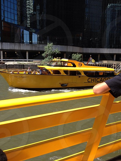 Chicago water taxi photo