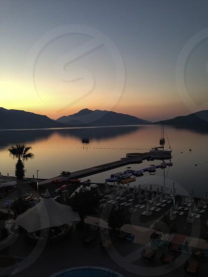 Turkish seafront.  photo