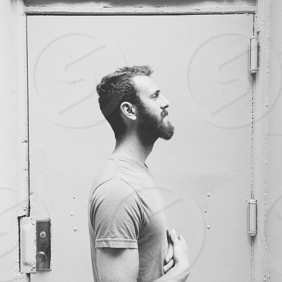 Beard portrait of Tyler. photo