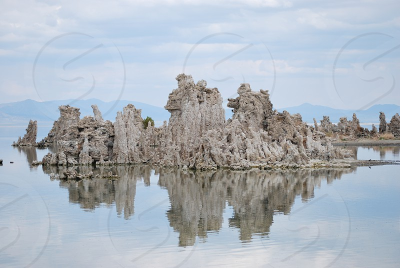 Mono lake california  photo