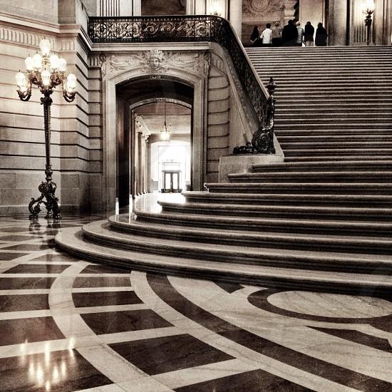 Inside City Hall San Francisco California photo