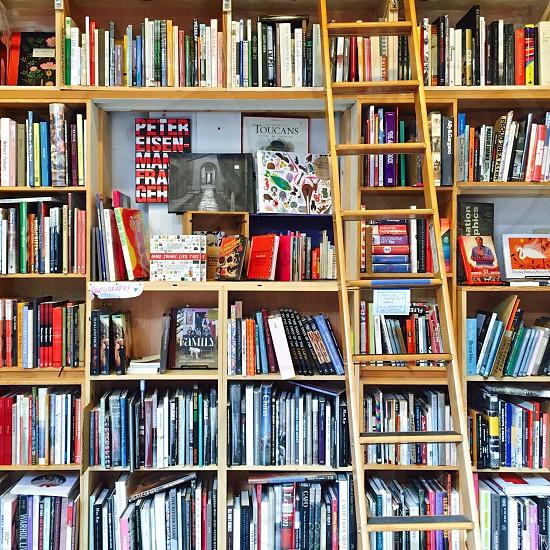 Bookcase  ladder photo