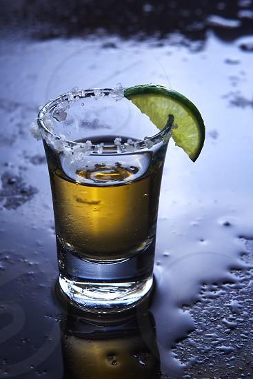 Tequila shot. photo
