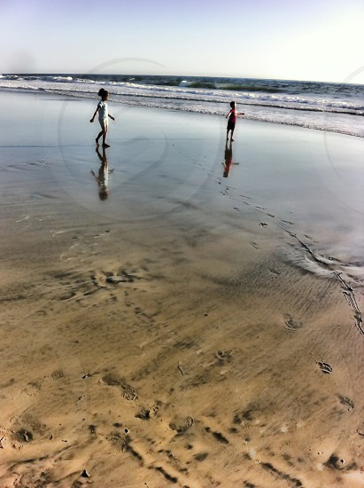 Low Tide Reflection photo