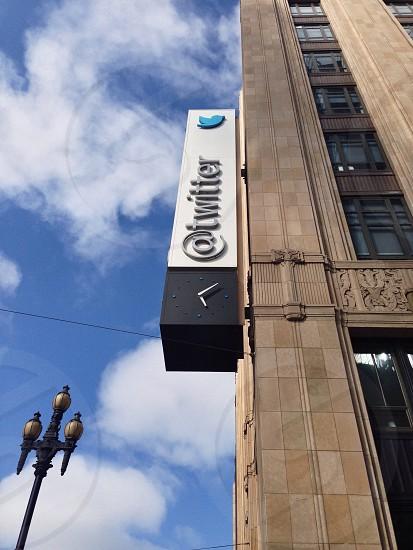 twitter building signage photo