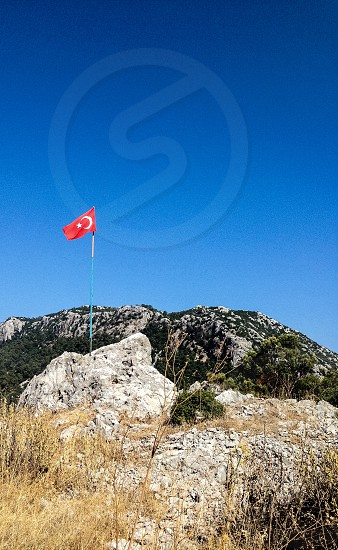 Turkish mountain. Nationality. Pride. photo