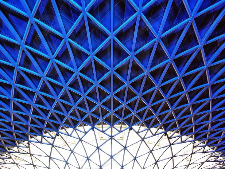 King cross station London UK photo