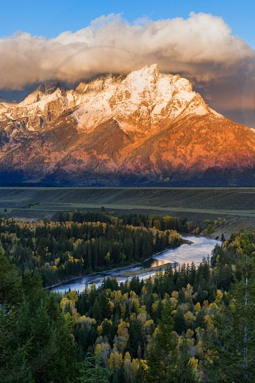 The Meandering Snake River photo