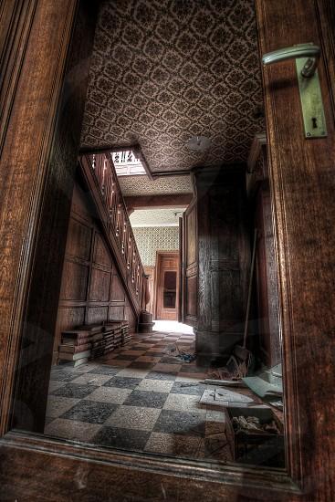 door books house horror keyhole abandoned photo