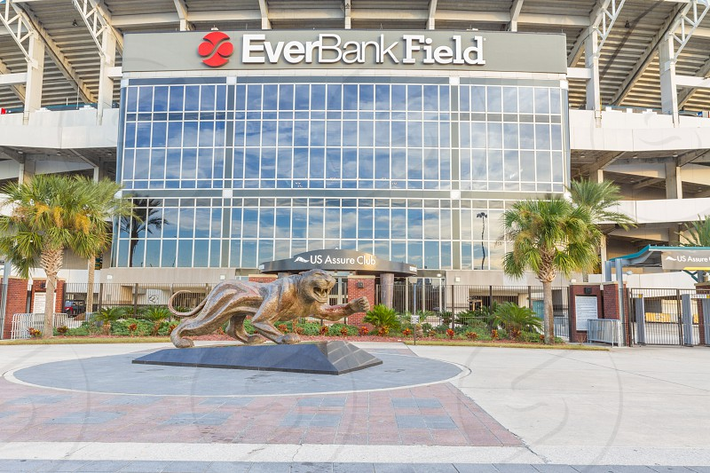 Everbank football Field in Jacksonville Florida home of the NFL Jacksonville Jaguars photo