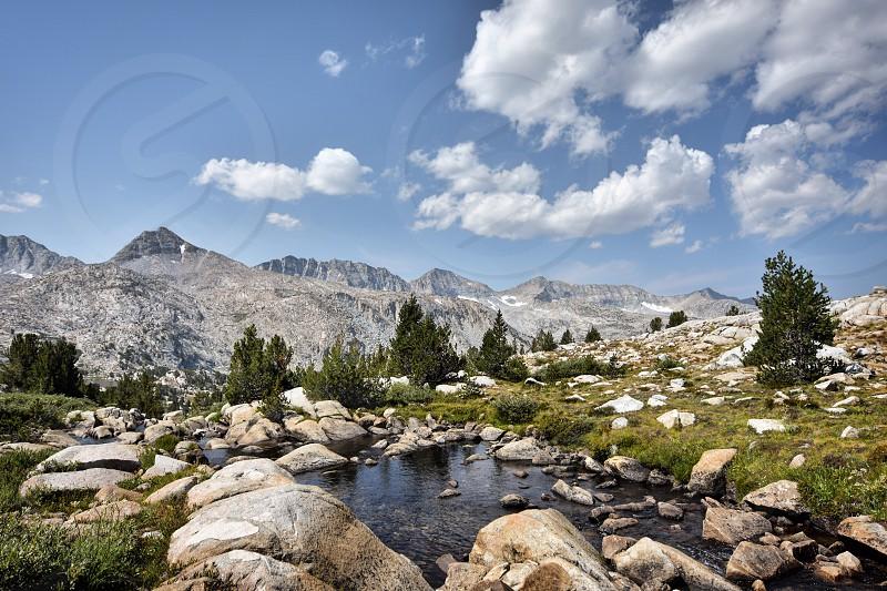 John Muir Trail California.  photo