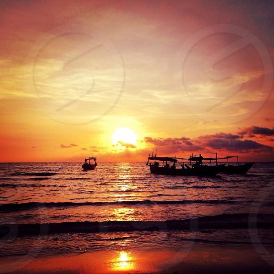 Koh Rong sunset photo