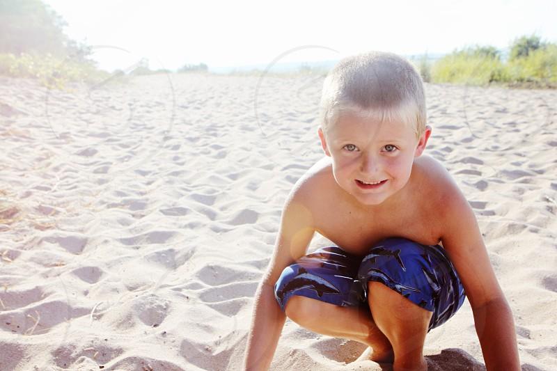 Beach boy photo
