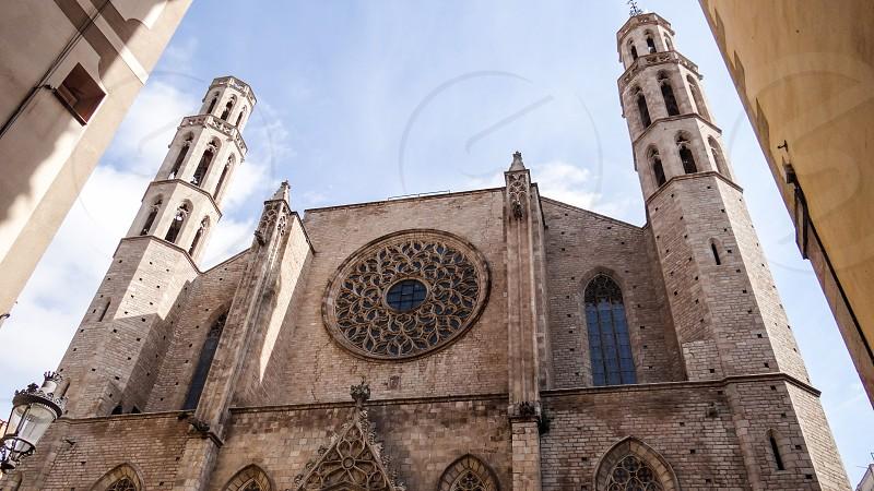 Santa Maria del Mar Barcelona - Barcelona Spain photo