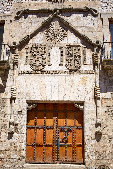 Casa de los Condestables house in Burgos also known as Casa del Cordon at Castilla Spain photo