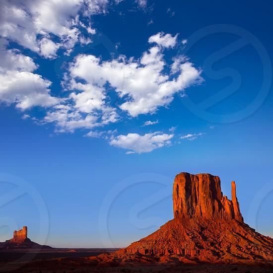 Monument Valley West Mitten Butte Utah National Park photo
