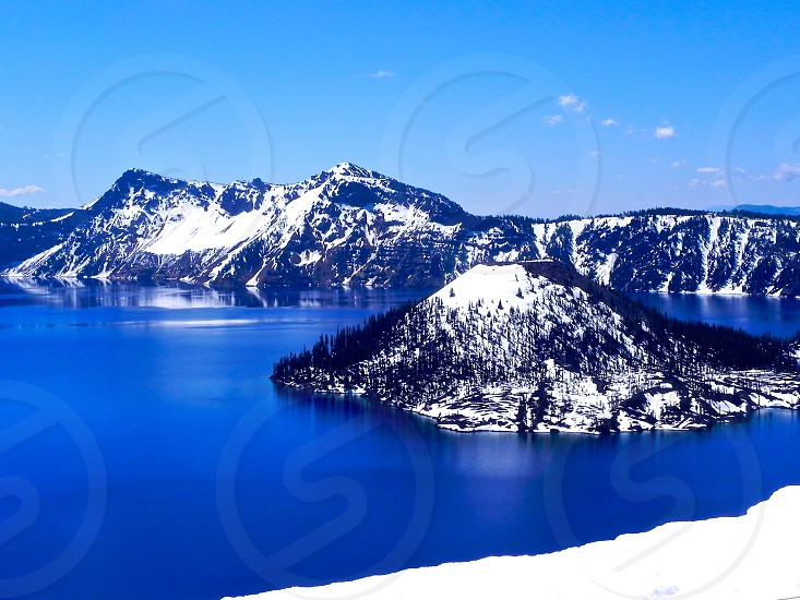 Crater Lake Oregon photo