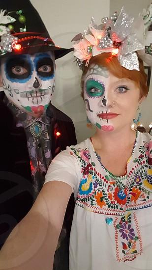 sugar skulls photo