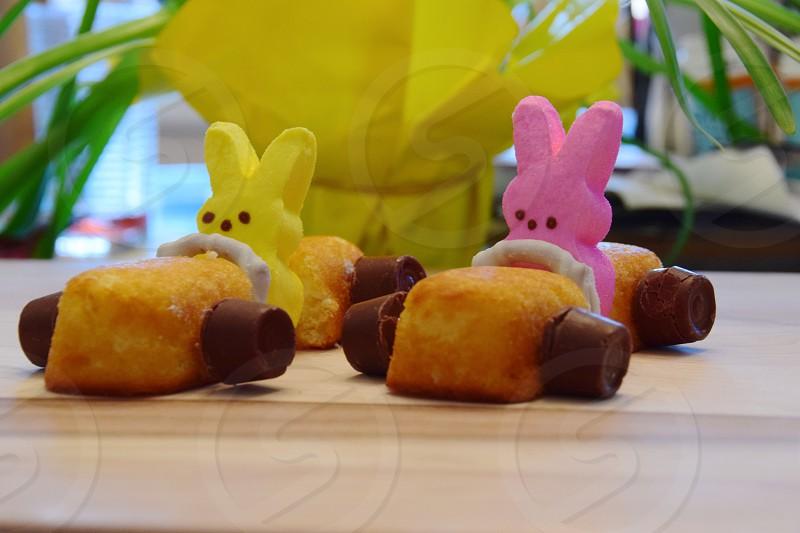 Easter Peeps cruising into Spring Break photo